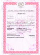 License of the Russian Emergencies Ministry, Page 1
