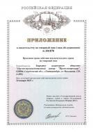 Приложение к свидетельству на товарный знак № 301870